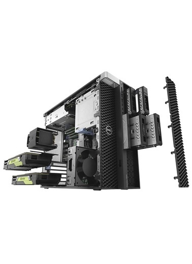 Dell DELL Precision WS T5820.5392A Xeon W-2155 64GB 512SSD  P5000 Masaüstü Bilgisayar Renkli